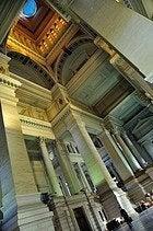 Palacio de Justicia de Bruselas, interior