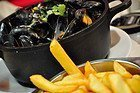 Moules frites, Belgium's traditional dish