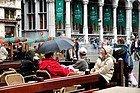 Pioggia a Bruxelles
