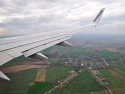 Llegar a Bruselas en avión