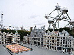 Mini Europe, Grand Place and the Atomium
