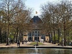 Royal Palace from Parc de Bruxelles