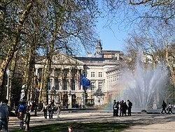 Parque de Bruselas, Palacio de la Nacion