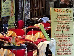 Restaurantes en Bruselas, Rue des Bouchers