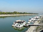 Alojamiento en Budapest: Barcos en el Danubio