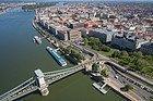Bird's eye view of Budapest