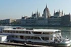 Exploring the Danube river on a cruise