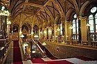 Parlamento de Budapest, interior
