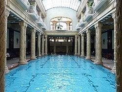 Sala principal del Balneario Gellért