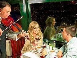 Cena barco Danubio