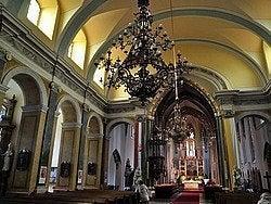 Iglesia Parroquial del Centro, interior