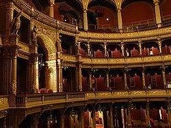 Ópera de Budapest: Interior