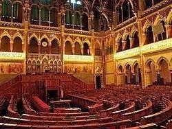 Parlamento de Budapest, Antigua Cámara Alta