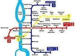 Metro Budapest: Mappa