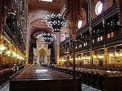 Sinagoga Judía: Interior