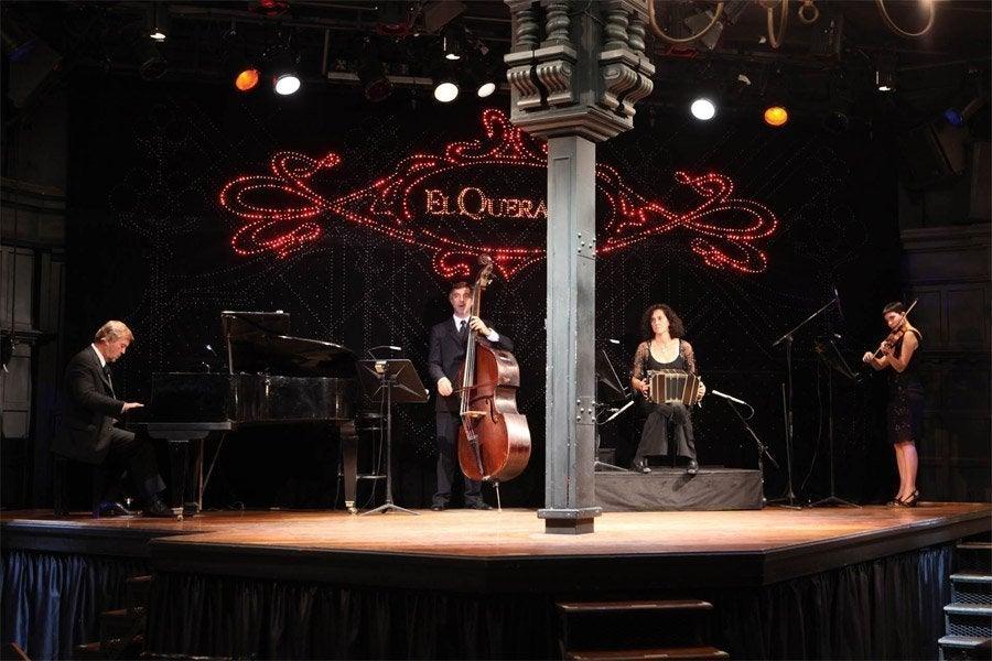 Espectáculo de tango en El Querandi