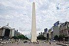 Obelisco en la Plaza de la República