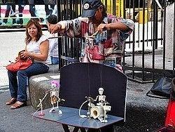 Artista callejero de Buenos Aires