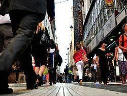 Compras en Buenos Aires, calle Florida