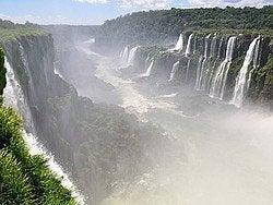 Lado argentino de las Cataratas del Iguazú