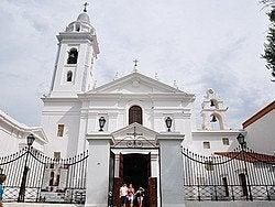 Iglesia del Pilar, en Recoleta