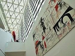 Museo de Arte Latinoamericano de Buenos Aires, interior