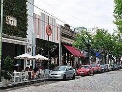 Palermo, alrededores de la Plaza Serrano