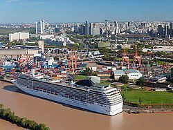 Puerto de cruceros de Buenos Aires
