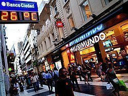 Tiempo en Buenos Aires a principios de marzo