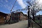 Auschwitz, entrada