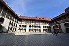 Castillo de Wawel, patio