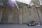 Podgorze, restos del muro del gueto