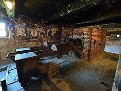 Auschwitz, crematoio