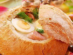 Comida típica de Cracovia, la sopa