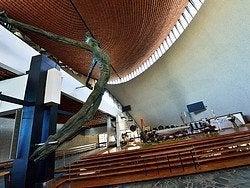 Iglesia de Nowa Huta, interior