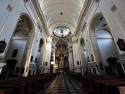 Iglesia de San Pedro y San Pablo, interior