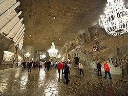 Minas de sal de Wieliczka, Capilla de St. Kinga