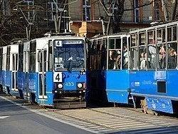 Tranvías en Cracovia