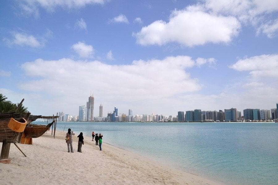 Panorámica de Abu Dhabi