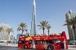 Autobús turístico de Dubái