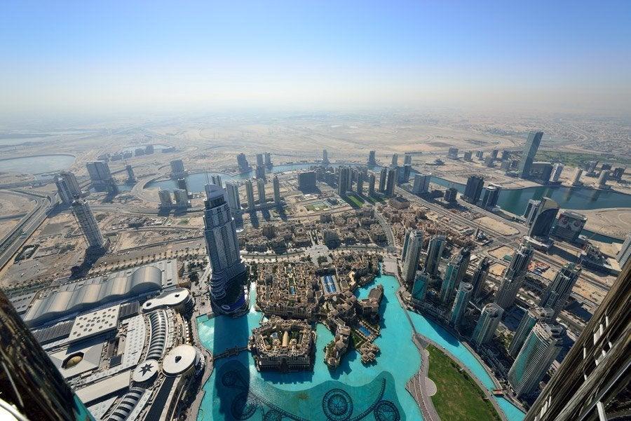 Resultado de imagen para mirador de burj khalifa