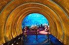 Burj Al Arab, entrada al restaurante Al Mahara