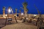 Campamento de lujo en el desierto de Dubái