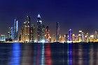 Skyline de Dubai Marina