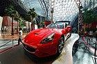 Ferrari World, ferrari de exposición