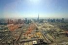 Vistas de Dubái desde el helicóptero