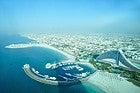 Burj Al Arab Sky Bar, vistas de Dubai