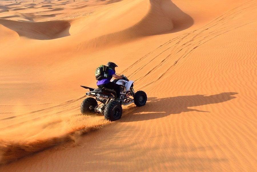 Tour en quad por el desierto de Dubái | Feel Dubai...