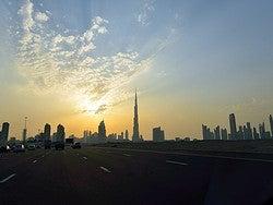 Carretera de Dubai