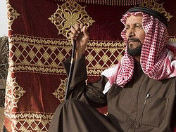 Beduino del desierto de Dubái